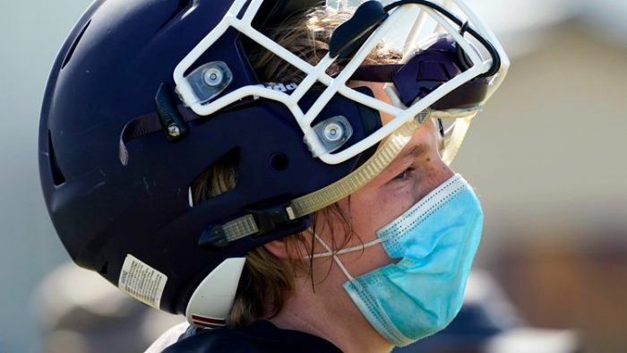Lansing opposing governor's mask mandate for athletes