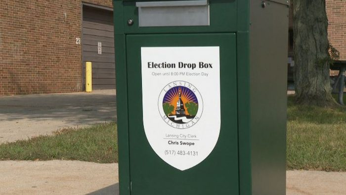 Lansing is making absentee ballot drop boxes more available