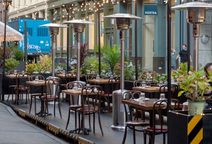 What Al Fresco Dining May Look Like When It's Cold