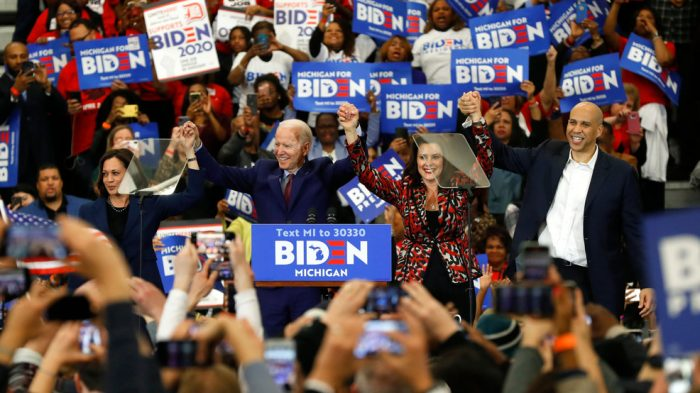 Whitmer, Dems launching 4-day bus tour with Biden's campaign