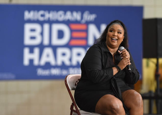 Lizzo in Detroit: 'Michigan is going to be crucial' in election