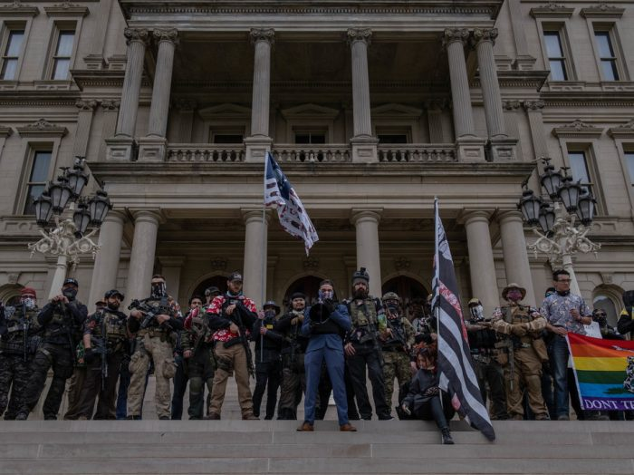 Here's Where The Threat Of Militia Activity Around The Elections Is The Highest