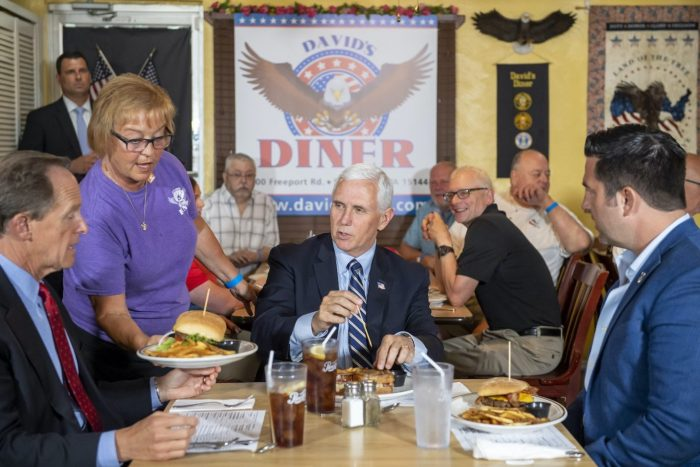 Why are journalists always visiting diners in Trump country?