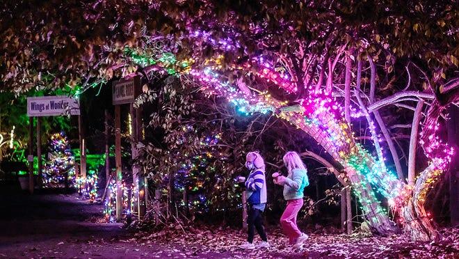 Potter Park Zoo's Wonderland of Lights to run through Dec. 27