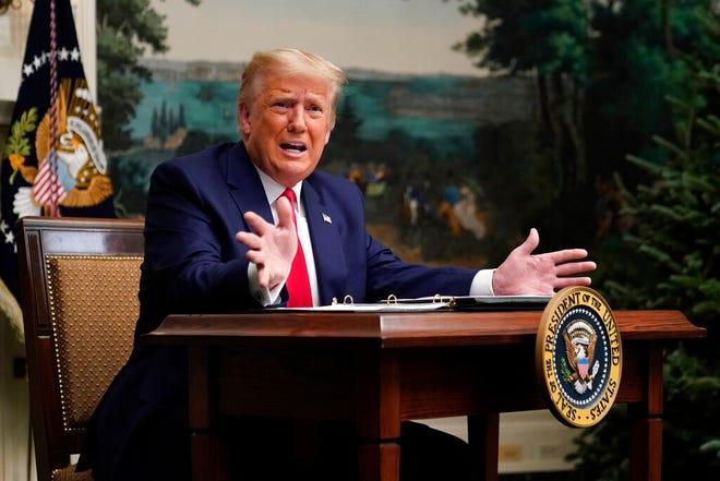 Trump slams Detroit, Wayne County while criticizing election results