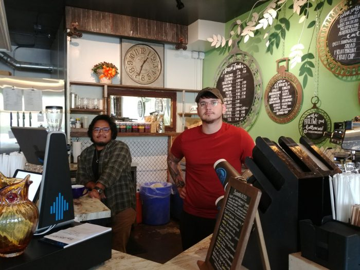 Blue Owl Coffee helps keep the lights on for Lansing families
