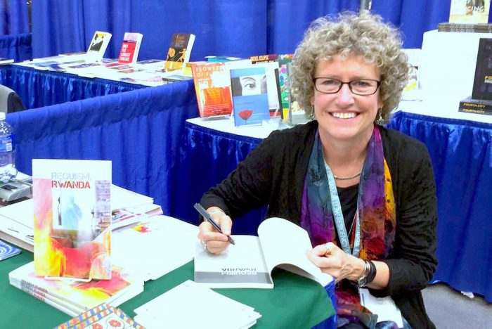 Lansing Poet Laureate Laura Apol hosts livestream reading to benefit Greater Lansing Food Bank