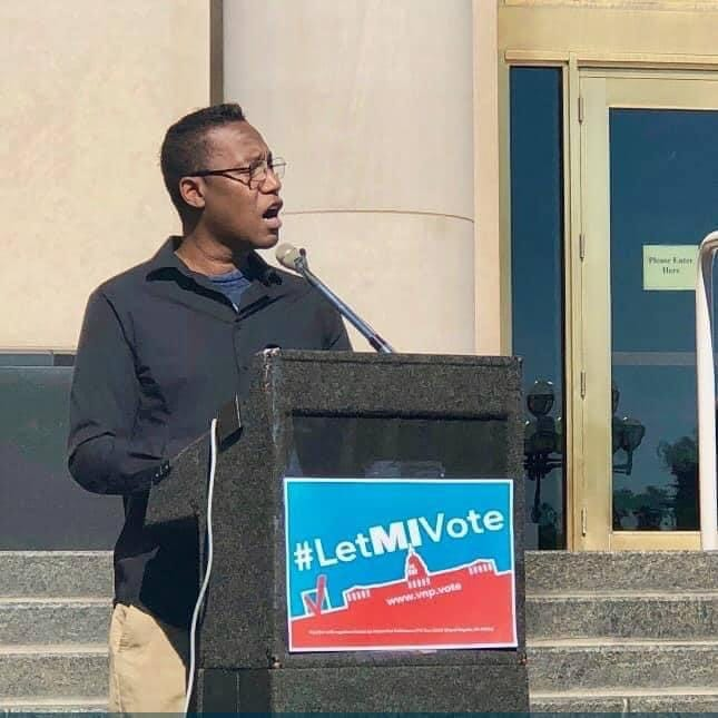 Lansing mourns loss of activist Mark Anthony Brown, who died at 51 of lung disease