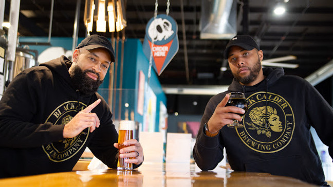 Black Calder, Michigan's first Black-owned brewery, launches Black IPA on Black Friday