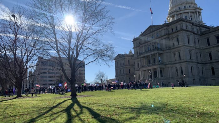 'Stop the Steal' protests continue in Lansing