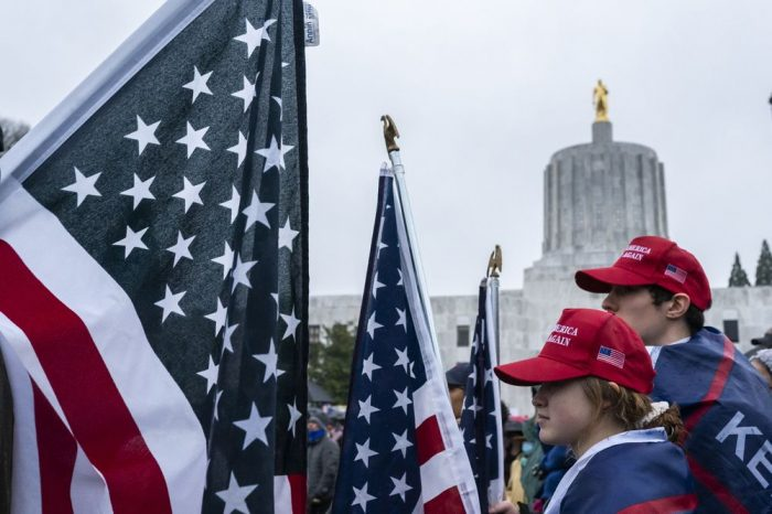 State Capitols Brace for Right-Wing Violence