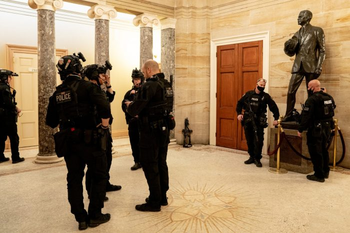 Police Investigating Whether Lawmakers Gave Rioters Tour of Capitol Before Siege