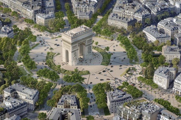 A Green Transformation for the 'World's Most Beautiful Avenue'