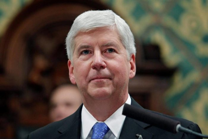 Michigan plans to charge ex-governor in Flint lead-contaminated water scandal