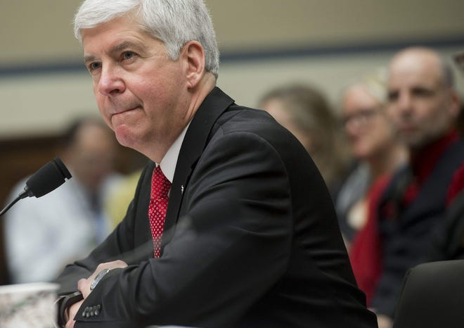 Former Gov. Rick Snyder faces 2 criminal charges in Flint water case