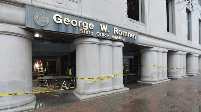 Boarded windows, fencing and National Guard: 'Unprecedented' preparation for Sunday protests