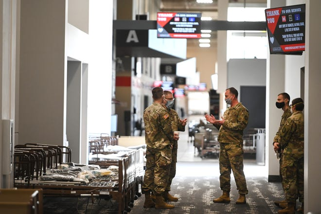 300 more Michigan National Guard members deployed to help fight COVID-19