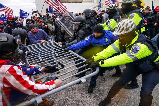 Comparison between Capitol siege, BLM protests is denounced