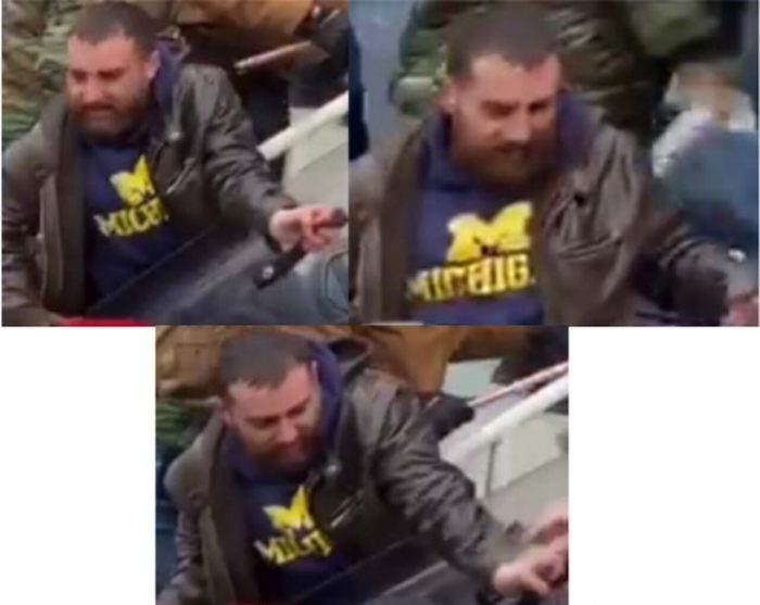 Police seeking man in U-M hoodie involved in violent riots at U.S. Capitol
