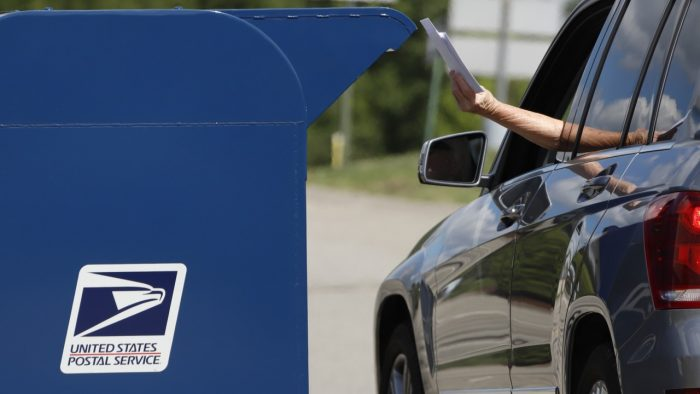 Lansing postal boxes locked or removed ahead of anticipated protests
