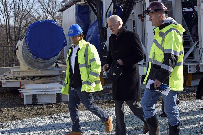 Biden's narrow path to an infrastructure dream