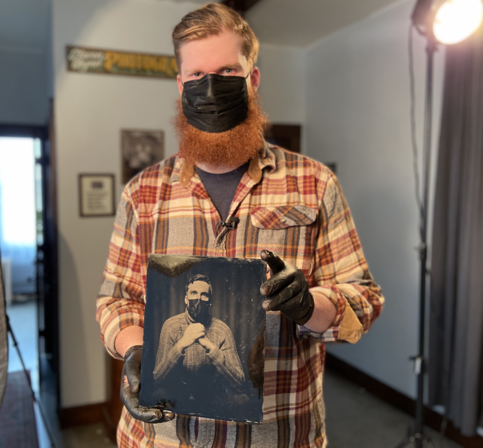 REO Town photographer Steven Glynn keeps tintype photography alive