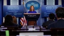 Live updates: Biden press secretary holds first briefing; spy chief nominee clears Senate