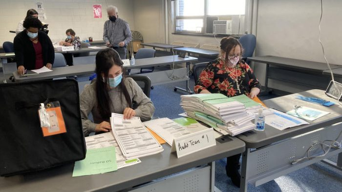 Lansing Conducts Presidential Election Audit