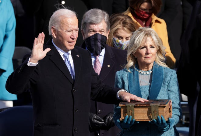 Joe Biden inaugurated as 46th president as Trump era comes to an end