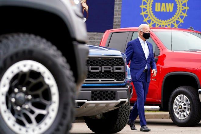 Biden signs order strengthening 'Buy American' rules