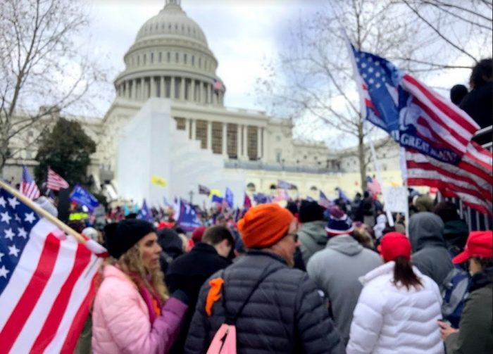 The DOJ Is Considering Not Prosecuting 800 Non-Violent Trump Supporters for Trespassing in US Capitol