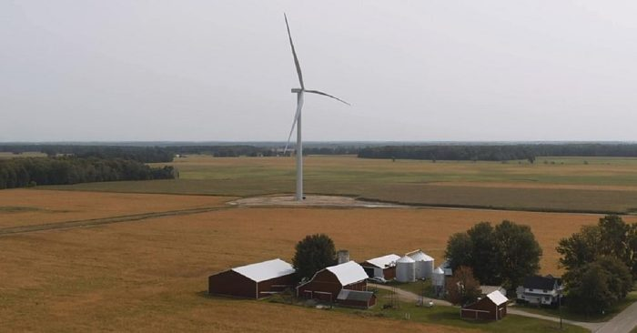 NEW WIND FARM ONLINE NORTH OF LANSING