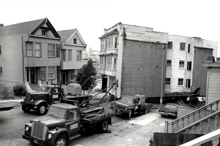 'Like moving a herd of elephants': San Francisco's history of houses on wheels