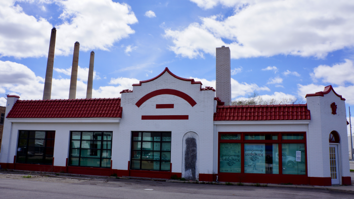 Redevelopment Plans to Bring New Life to Iconic Standard Oil Station in REO Town