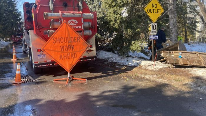 East Lansing working to clean up hydraulic oil spill in local neighborhood