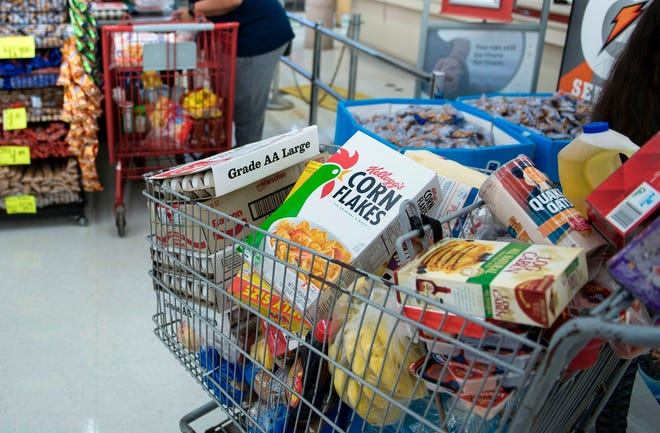 Overall prices consumers pay for groceries continue to rise
