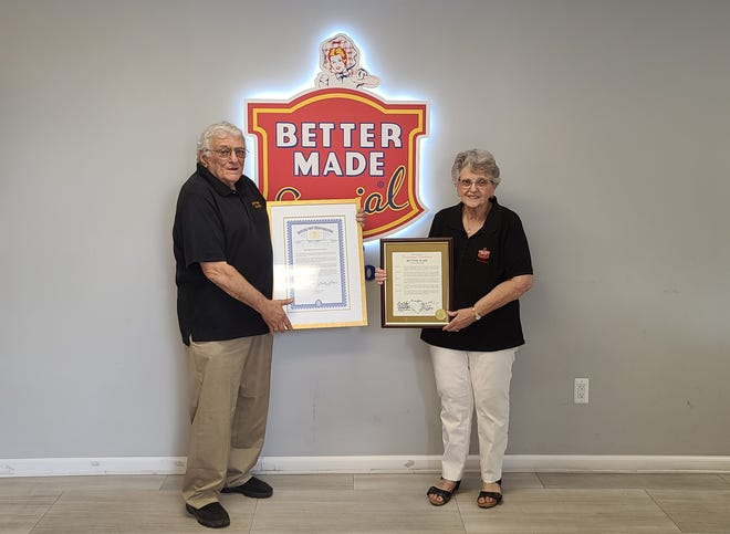 Salvatore Cipriano, CEO of Detroit's Better Made family snack food company, dies at 80