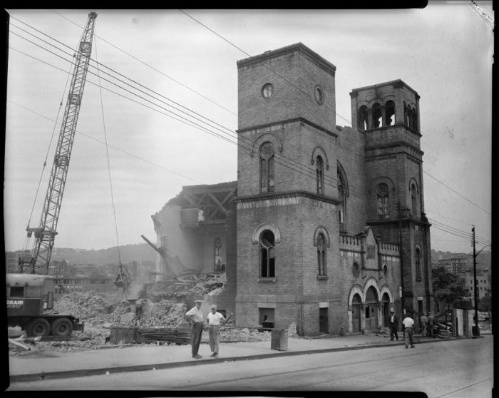 Pittsburgh's oldest Black church was demolished as 'blight' in the 1950s Lower Hill. Today, members seek justice.