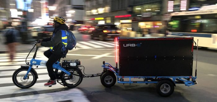 NYC e-cargo bikes lay groundwork for future of grocery delivery