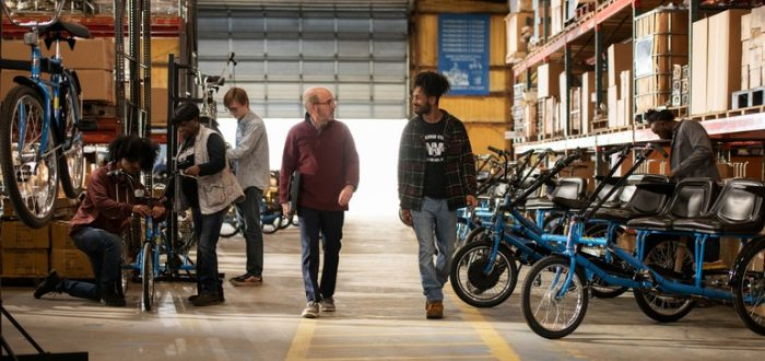 How a century-old bike company grew from ice cream deliveries to e-bikes