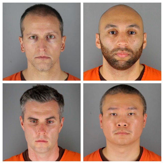 Derek Chauvin, 3 other former Minneapolis police officers indicted on civil rights charges in George Floyd's death