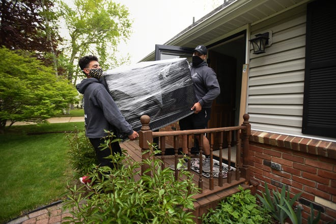On the go: Moving companies juggle jobs amid hot housing market