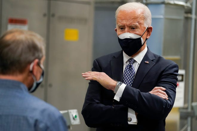 Biden to visit Michigan next week ahead of electric F-150 reveal