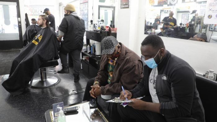 Cleveland Barbershop Offering COVID-19 Vaccine