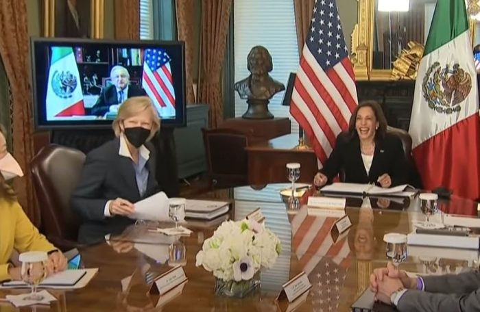 """""""Border Czar"""" Kamala Harris Got Up and Walked Out of First Meeting with Mexican President on Border Security – Obrador Accuses Biden Admin of Orchestrating Coup"""