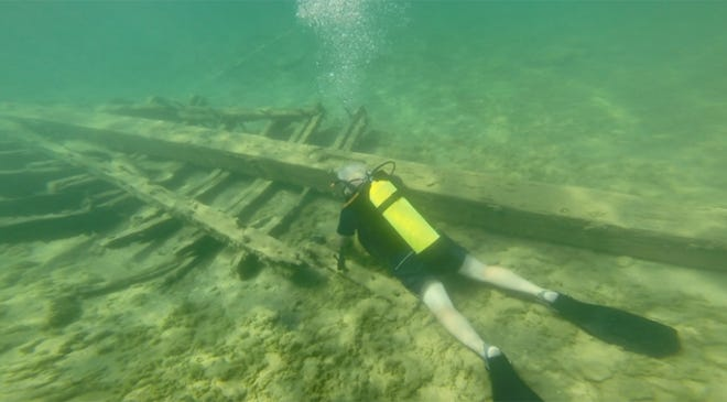 Charlevoix diver believes he's found 'holy grail' of Great Lakes shipwrecks