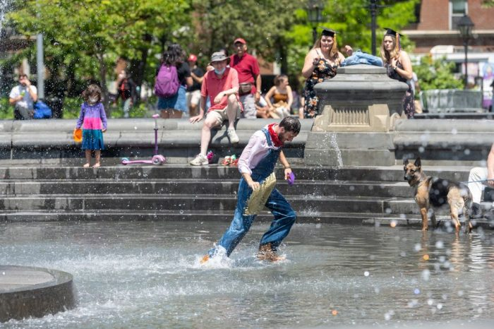 NYC Fight Over Policing Public Space Intensifies at Washington Square Park