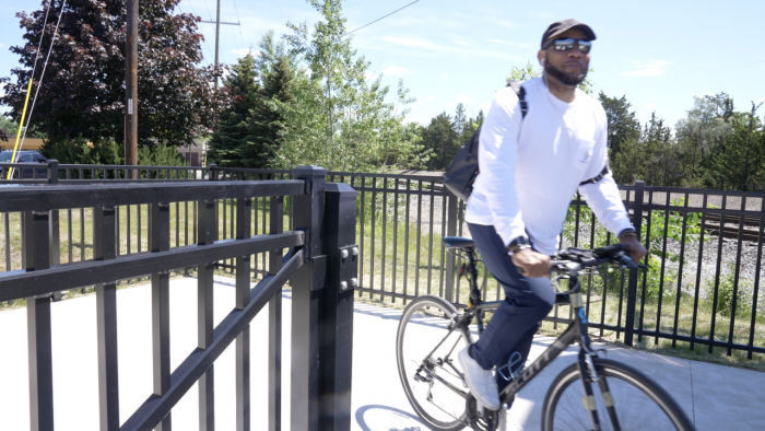 Waverly Pathway Project is complete, and bicyclists are happy to see it