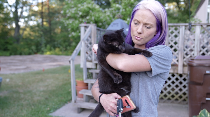 Williamston Cat lady Sara Brockmiller is asking for help from community members to foster cats