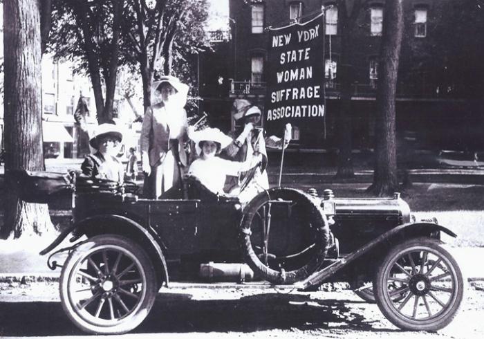 Auto tour to explore women's suffrage movement in US